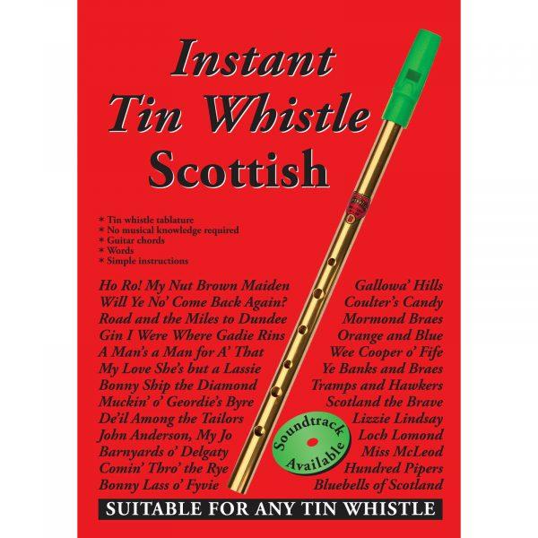 Instant Tin Whistle Scottish Book