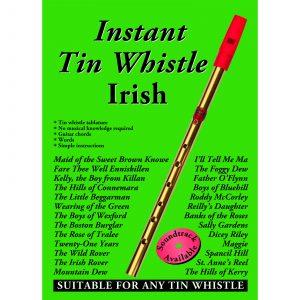 Instant Tin Whistle – Irish (Book Only)