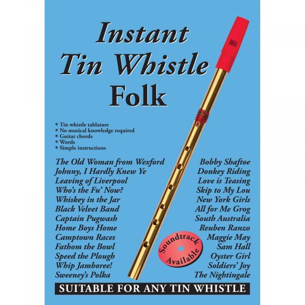 instant tin whistle folk book